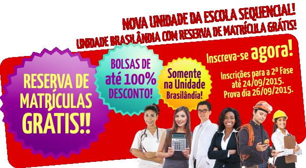 Reserva de Vagas na Unidade Brasilândia
