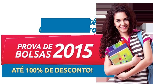 Prova de Bolsas de Estudo 2015 - 1º Semestre