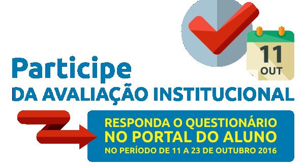 Avaliação Institucional 2016